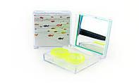 Дорожный набор для хранения контактных линз a-801 с рисунком