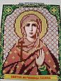 Набор для вышивки бисером ArtWork икона Святая Мученица Галина VIA 5019, фото 2