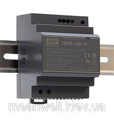 HDR-100-24N Блок питания на Din-рейку Mean Well 100,8вт, 24в, 4,2А