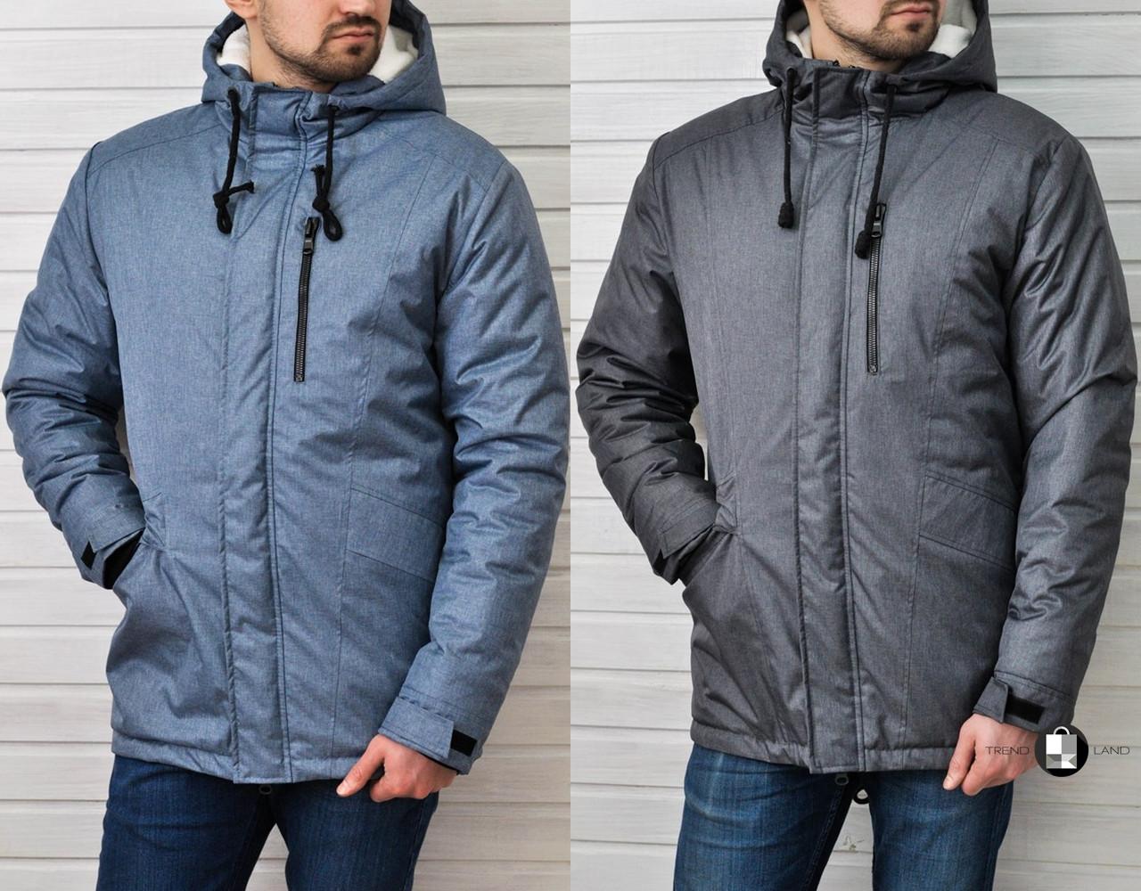 Мужская зимняя куртка Baterson Snowman 2 цвета - Интернет-магазин