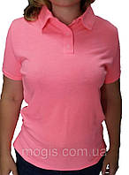 Тенниска поло розовая