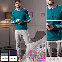 Пижама костюм мужская флис. Домашняя одежда для мужчин Cotonella™ ca881d7014836