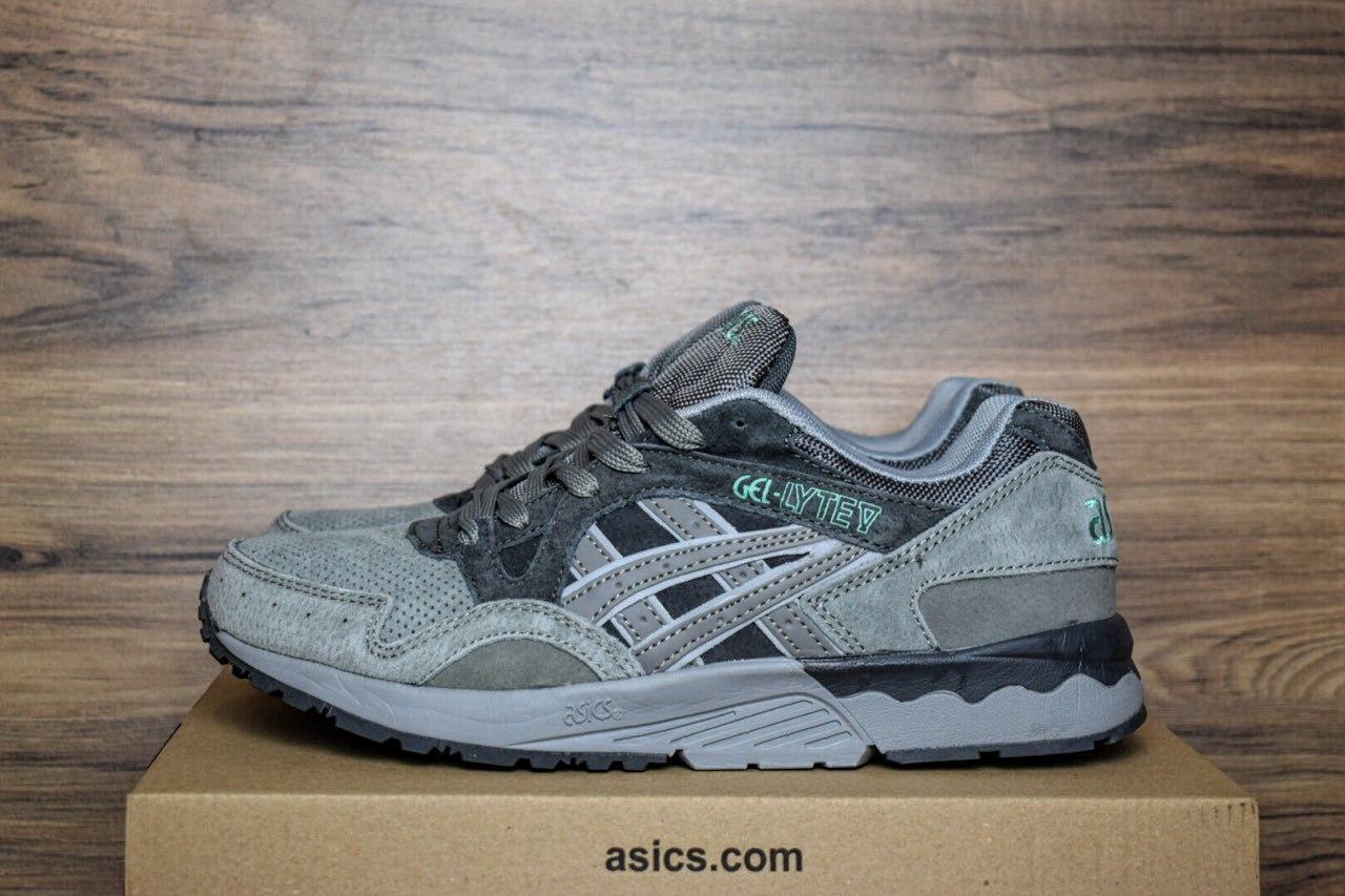 28730463e416 Мужские кроссовки Asics Gel Lyte V серые 1340 42 размера  продажа ...