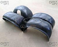 Подкрылки, 4шт., комплект, Geely Emgrand EC8 [2.4,GP,AT], Ukraine Product