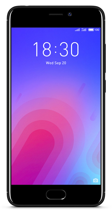 Смартфон Meizu M6 16Gb Black, фото 1