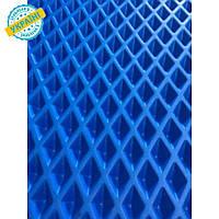 EVA материал для автоковриков (ЭВА листы) 2000*1200 мм синий Eva-Line ромб