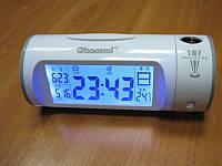 Часы - проектор времени + термометр + звукоуправляемые