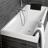 Ванна прямоугольная Villeroy&Boch Squaro UBQ180SQR2V-01, 1800х800х490 мм, фото 2