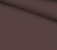 Ткань однотонная коричневого цыета, польская бязь