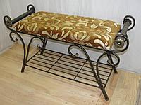 Банкетка кованая  -  03-900-2, фото 1