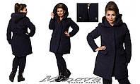 Кашемировое пальто с капюшоном  женское Производство Италия размер 42-54