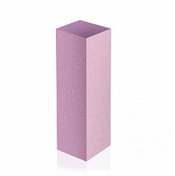 Шлифовщик для натуральных ногтей (розовый,180) ruNail