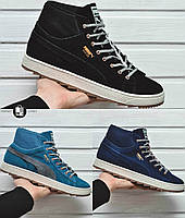 Мужские кроссовки (еврозима) Puma Suede 3 цвета в наличии