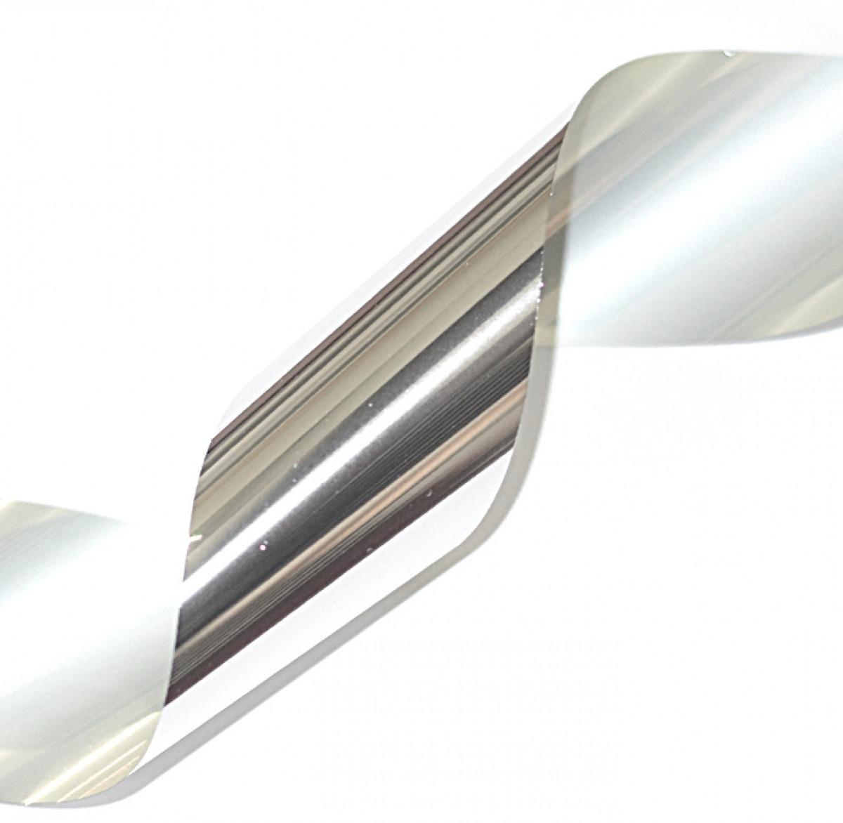 Фольга срібло металік 1м*5см Artex