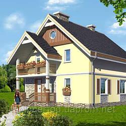 Двухэтажный дом до 100 кв.м
