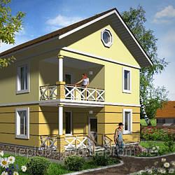 Трехэтажный дом до 200 кв.м
