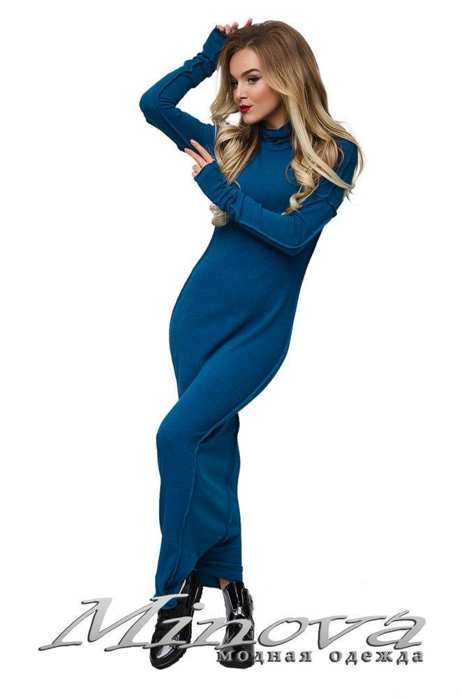 Молодежное женское платье итальянский трикотаж+гипюр  раз. 42-48