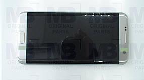 Дисплей Samsung G935 Galaxy S7 Edge с сенсором Silver, GH97-18533B