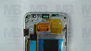 Дисплей Samsung G935 Galaxy S7 Edge с сенсором Silver, GH97-18533B , фото 2