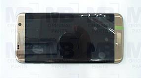 Дисплей Samsung G935 Galaxy S7 Edge с сенсором Gold, GH97-18533C