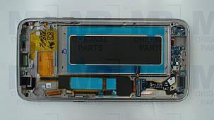 Дисплей Samsung G935 Galaxy S7 Edge с сенсором Gold, GH97-18533C , фото 2