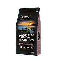 Profine (Профайн) JUNIOR LARGE SALMON & POTATOES лосось и картофель для молодых собак больших пород 3кг