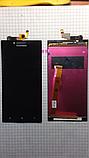 Дисплей LCD Lenovo P70, P70a,P70-A чорний з тачскріном, фото 2
