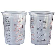 Мерный стакан для смешивания красок и лаков 600мл