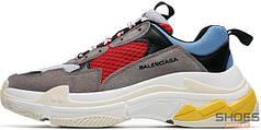 Мужские кроссовки Balenciaga 17FW Tripe-S Dad Shoe Grey/White