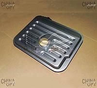 Фильтр АКПП, гидрофильтр коробки автомат, без прокладки, Chery Tiggo [2.4, до 2010г.,AT], Аftermarket