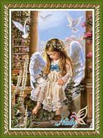 """Алмазная вышивка """"Ангелочек"""", фото 1"""
