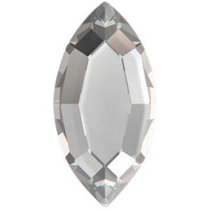 """Стразы """"Swarovski""""  Crystal 2200 / размер 8x4 mm - 1шт"""