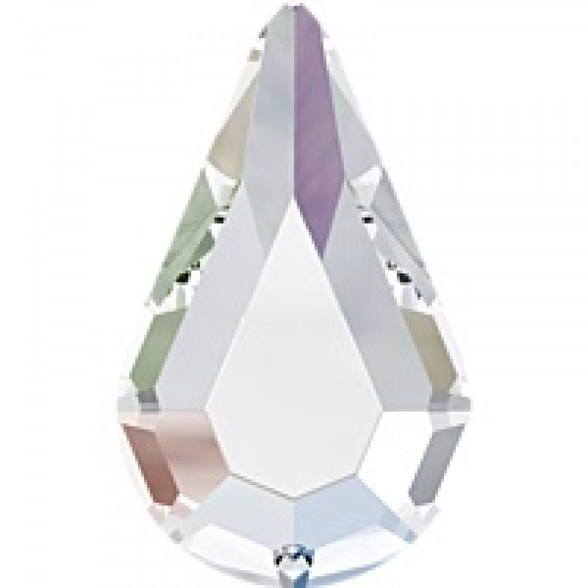 """Стразы """"Swarovski"""" 2300 Crystal  АВ F mm8*4,8  - 1шт"""