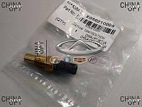 Датчик температуры охлаждающей жидкости, 1 контакт, Geely MK1 [1.6, до 2010г.], E050210005, Aftermarket