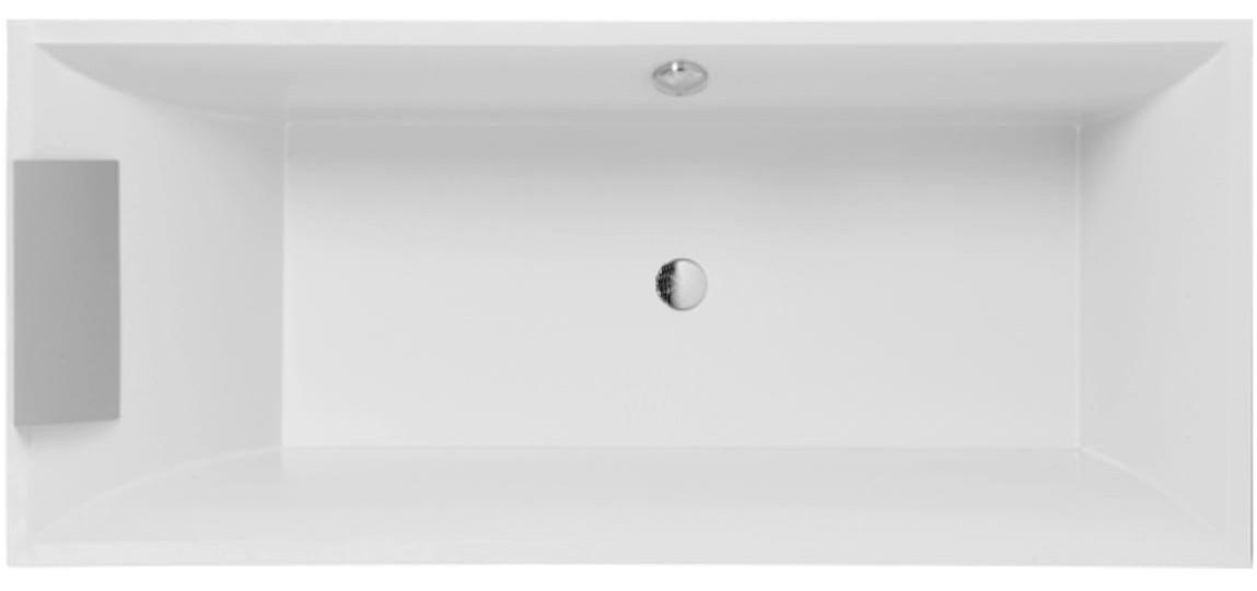 Ванна прямоугольная Villeroy&Boch Squaro UBQ170SQR2V-01, 1700х750х490 мм