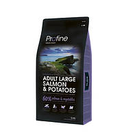 Profine (Профайн) ADULT LARGE BREED SALMON& POTATOES лосось и картофель для взрослых собак крупных пород 3кг