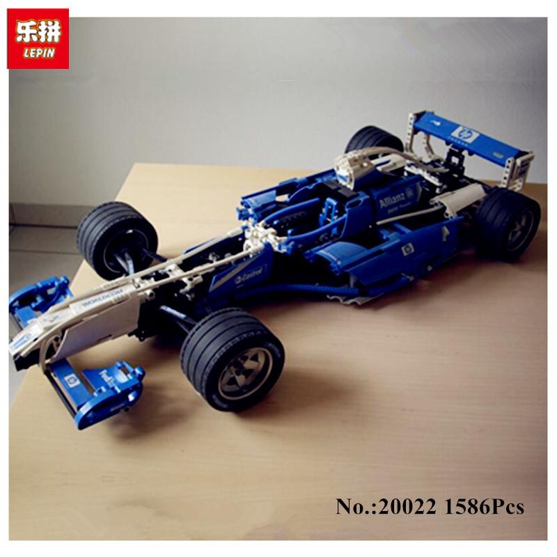 20022 Lepin Analog Lego 8461 Formula 1 Williams 1586 Det