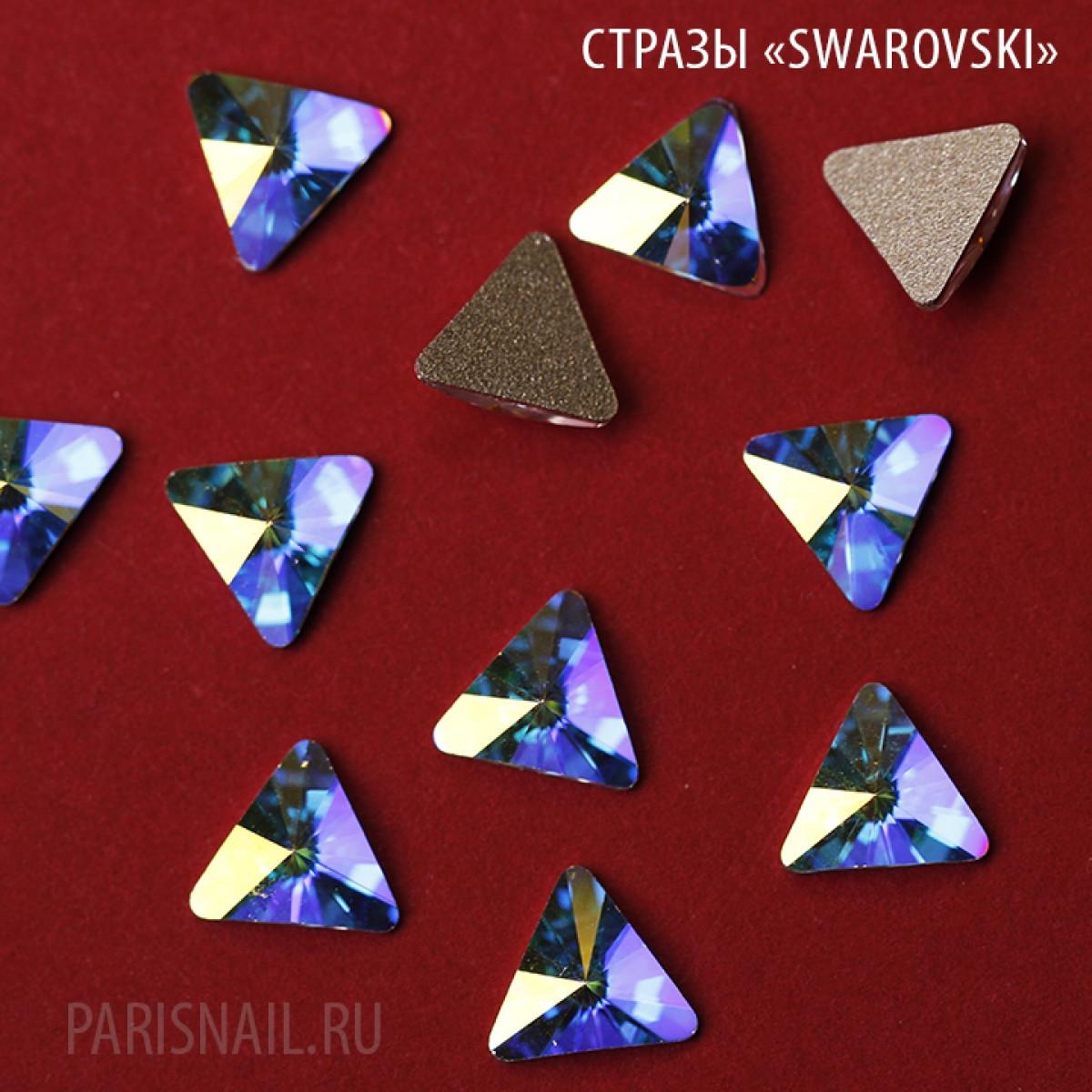"""Стразы """"Swarovski""""  2716 MM 5.0 CRYSTAL AB F 6шт"""