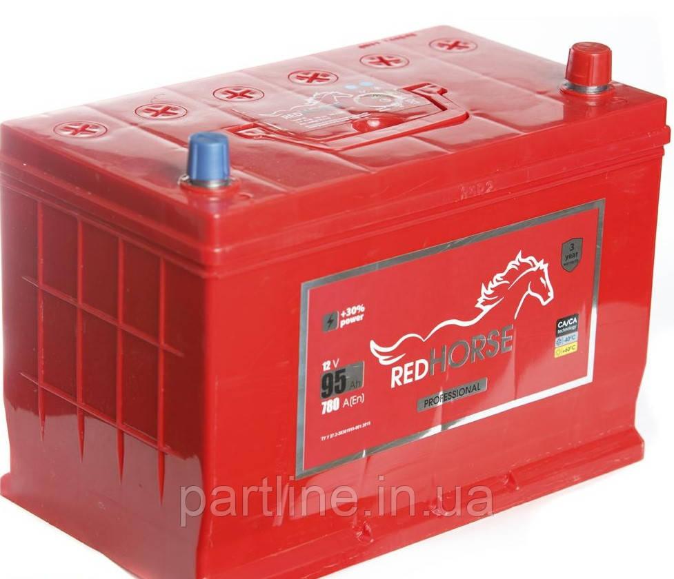 Аккумулятор Red Horse 6СТ-92, пусковой ток 800En, 353х175х190, гарантия 24 мес., премиум класс.