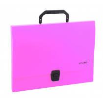 """Портфель """"Economix"""" А4 1 отделение розовый №31607-09, фото 2"""