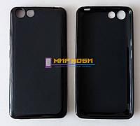 Чехол-бампер TPU силикон матовый Prestigio MultiPhone PSP 3403 Wize L3 Черный +ПОДАРОК
