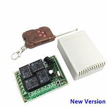 4-х канальный модуль дистанционного управления 433 МГц DC12V 1 пульт