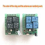 4-х канальный модуль дистанционного управления 433 МГц DC12V 1 пульт, фото 2