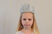 Детская новогодняя корона Снежинка, фото 2