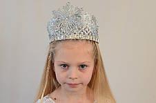 Детская новогодняя корона Снежинка, фото 3