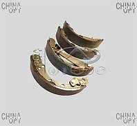 Колодки тормозные задние, барабанные, Chery Amulet [1.6,до 2010г.], Brp