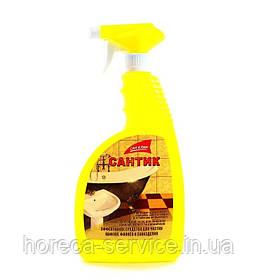 Средство моющее Сан Клин Сантик для сантехники с распылителем, 750 мл