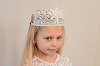 Детская новогодняя корона Снежной Королевы