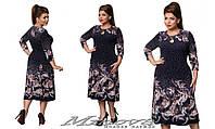 Платье женское большого размера недорого в интернет-магазине Minova ( р. 56-64