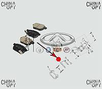Колодки тормозные задние, дисковые, Great Wall Voleex [C30], 3502340-G08, Stellox